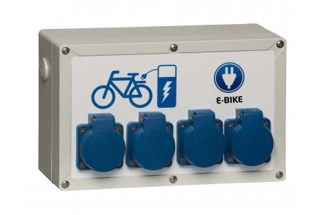 Oplaadpunt elektrische fietsen Type Flexibox