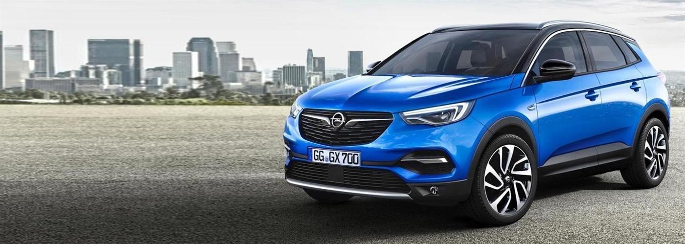 Oplaadpaal Opel Grandland X
