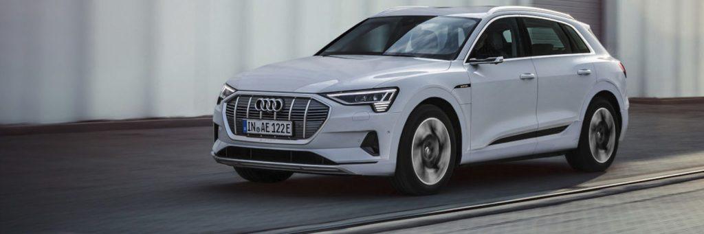 Oplaadpaal Audi e tron 50 quattro
